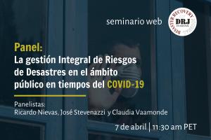 Seminario Web Panel con Ricardo Nievas