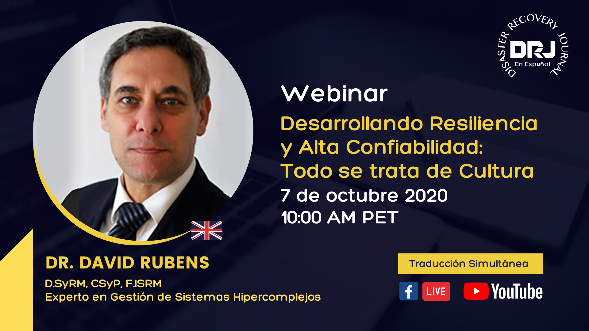 Seminario Web de Resiliencia - David Rubens