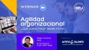 Webinar Agilidad Organizacional