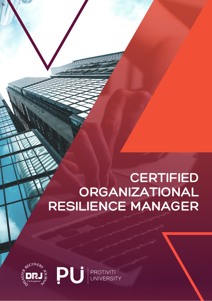 CERTIFIED ORGANIZATIONAL RESILIENCE MANAGER
